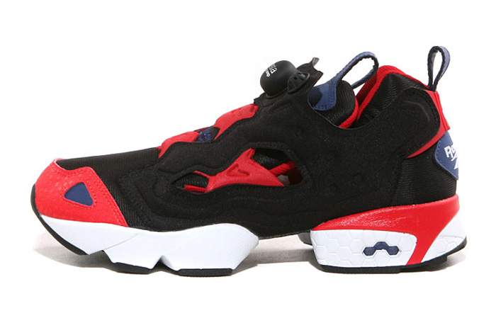Image of Reebok 2013 Spring INSTA PUMP FURY Classic Black/Red/Blue