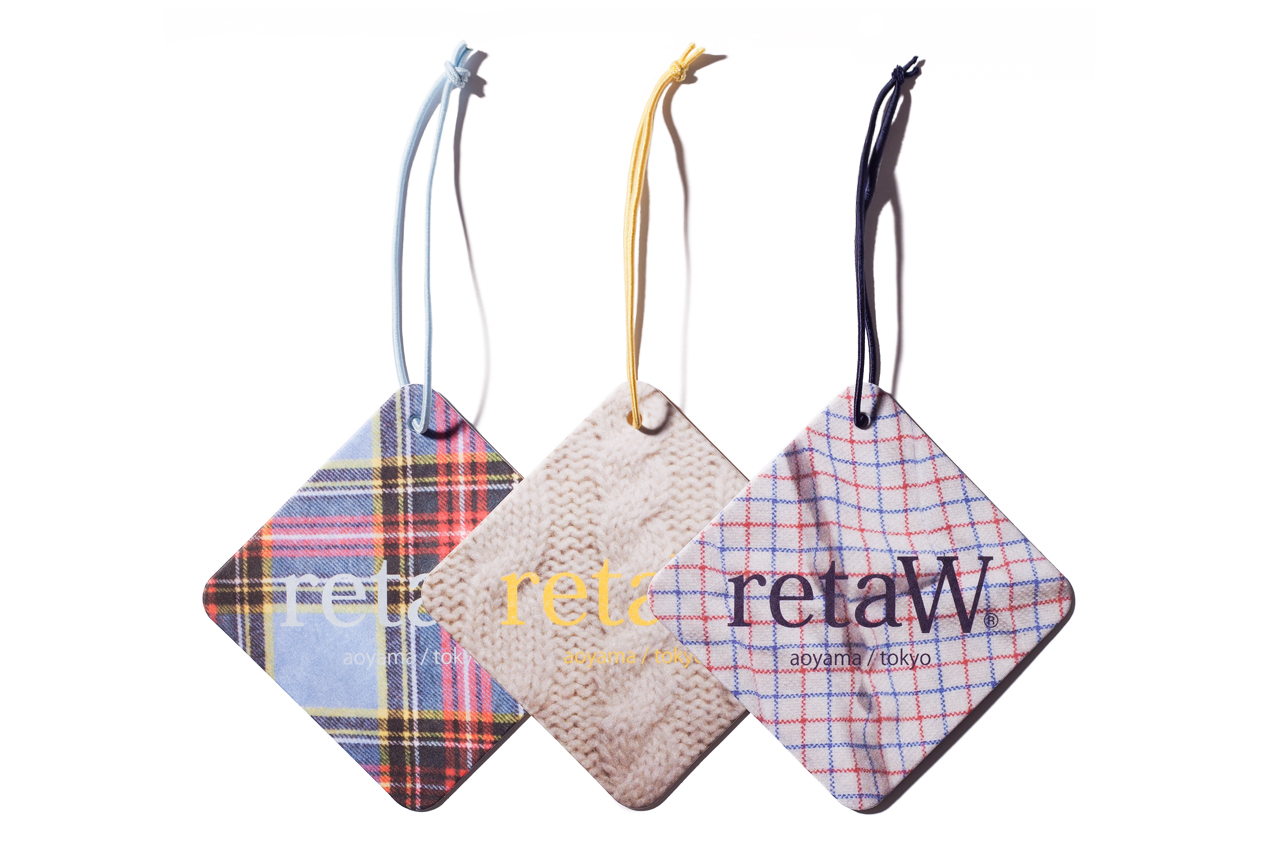 Image of retaW Fragrance Car Tags