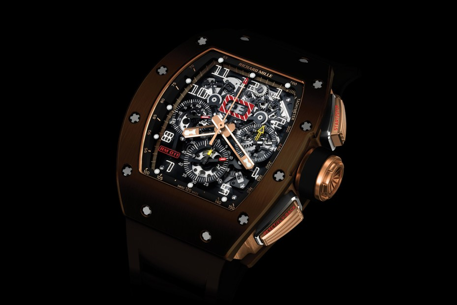 Image of Richard Mille RM011 Brown Silicon Nitride Watch