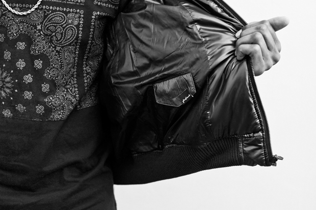 Image of Stampd Quilted Bomber Jacket