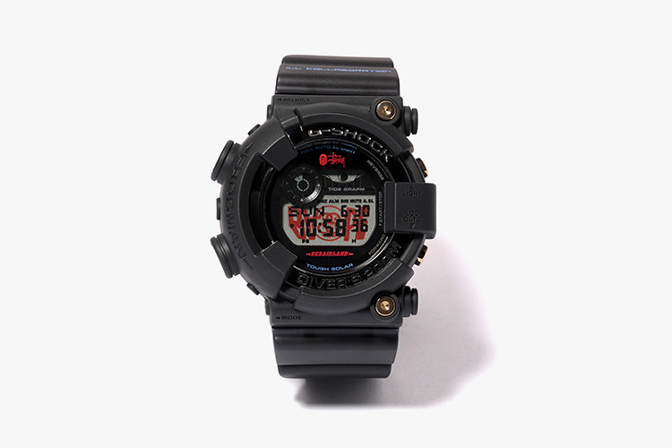 Image of Stussy x A Bathing Ape x Casio G-Shock Frogman Collection