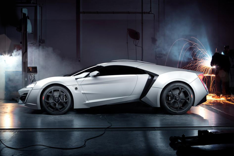 Image of The Lykan Hypersport from W Motors