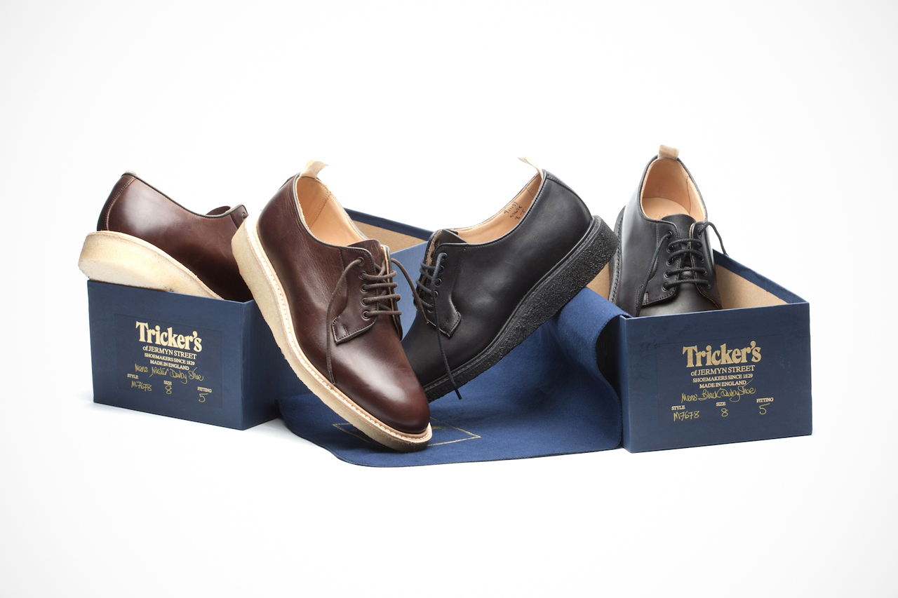 "Image of Tricker's for Norse Projects ""Blucher"" Shoe"