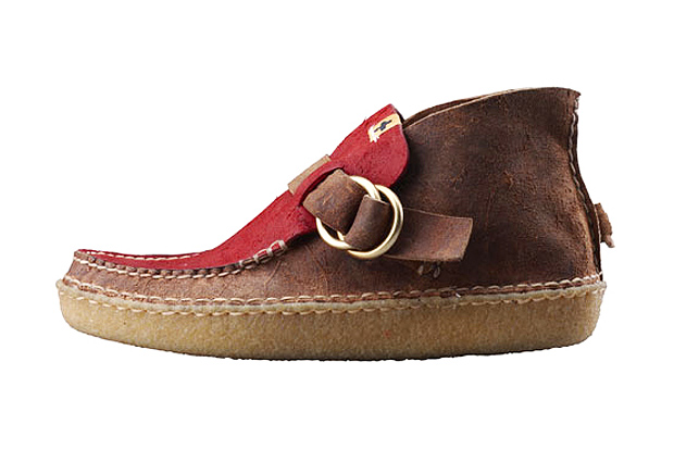 Image of visvim Skynard Ring Moccasin-Folk