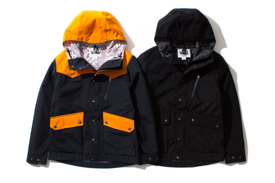 Image of Woolrich x nanamica Black Mountain Jacket