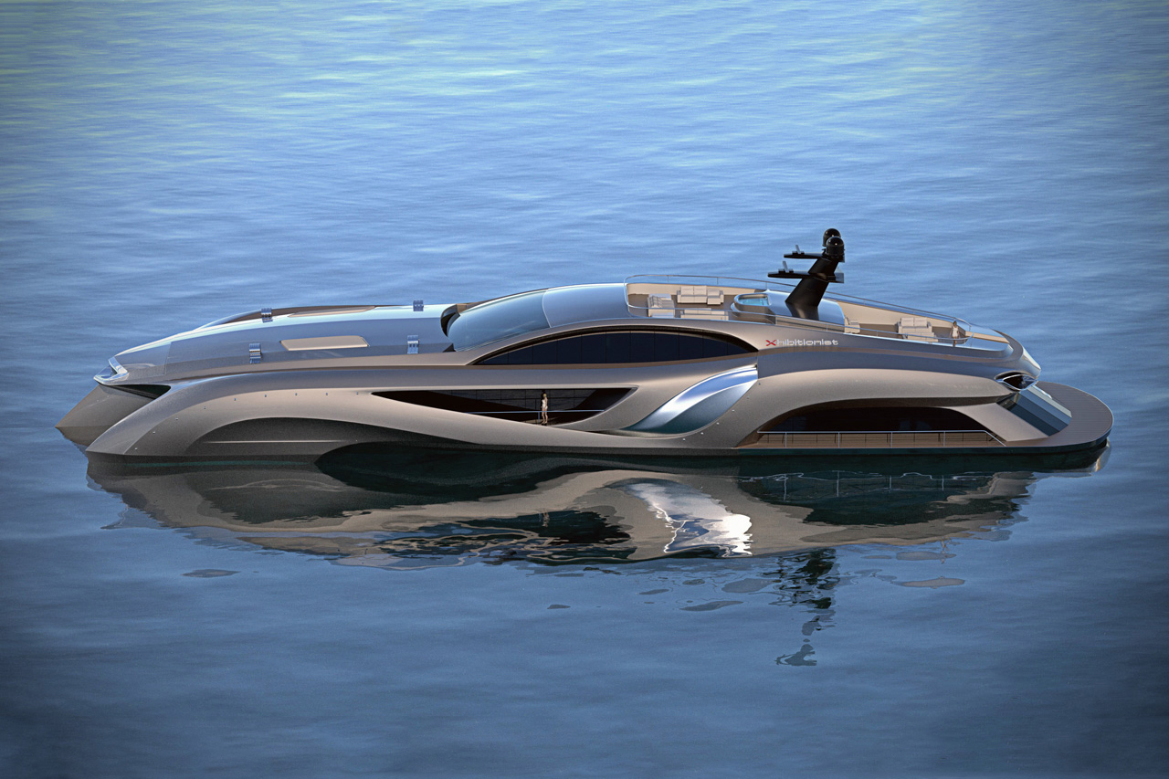 Image of Xhibitionist Superyacht by Gray Designs