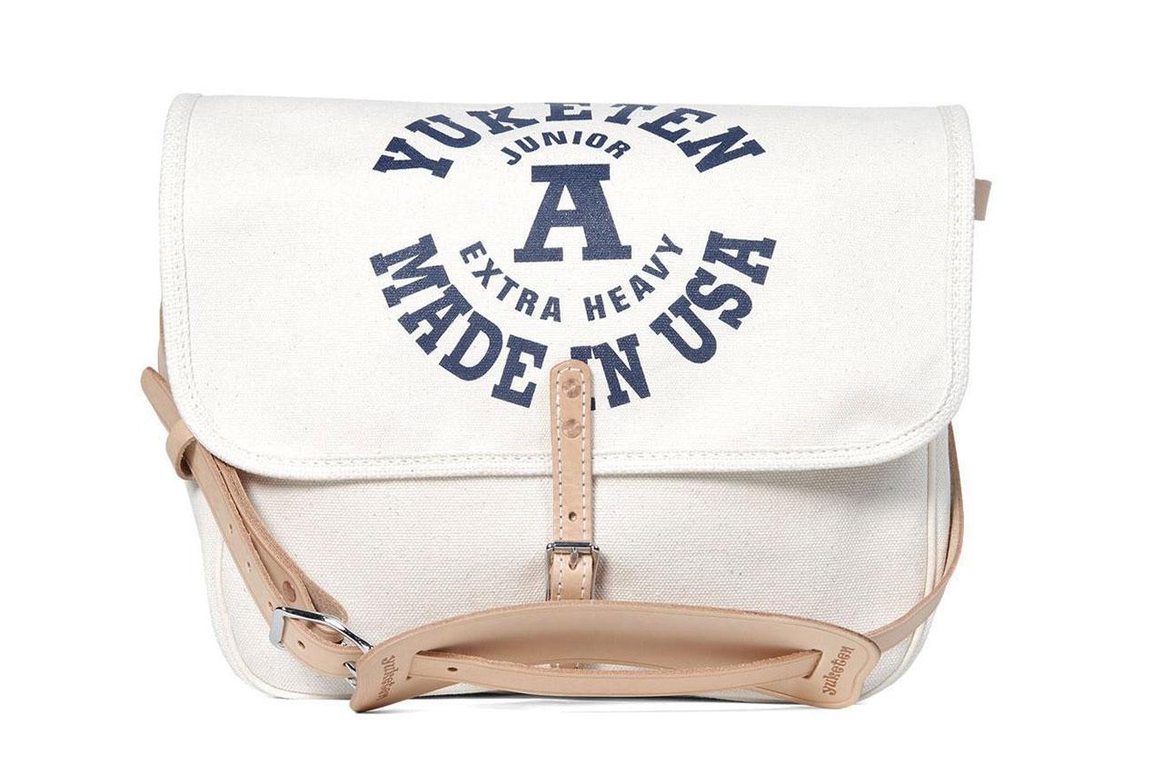 Image of Yuketen Natural Canvas Mailman Bag