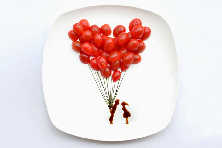 Image of 31 Days of Creativity with Food by Hong Yi (Red)