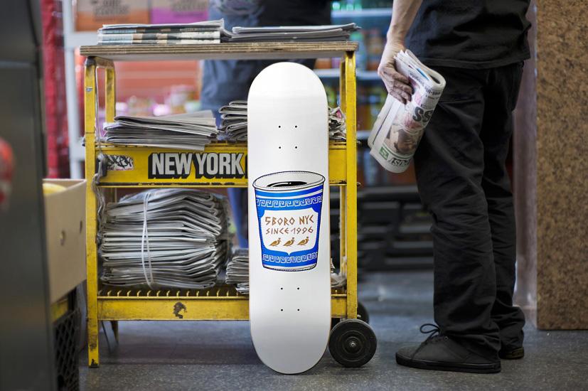 Image of 5boro Corner Store Skate Deck Series