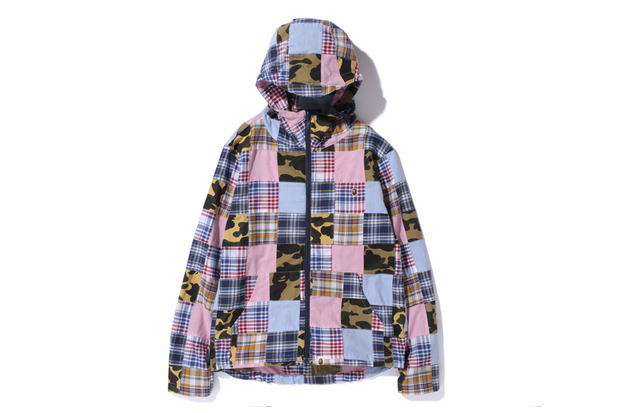 Image of A Bathing Ape 2013 Spring/Summer 1ST CAMO PATCHWORK HOOD JACKET