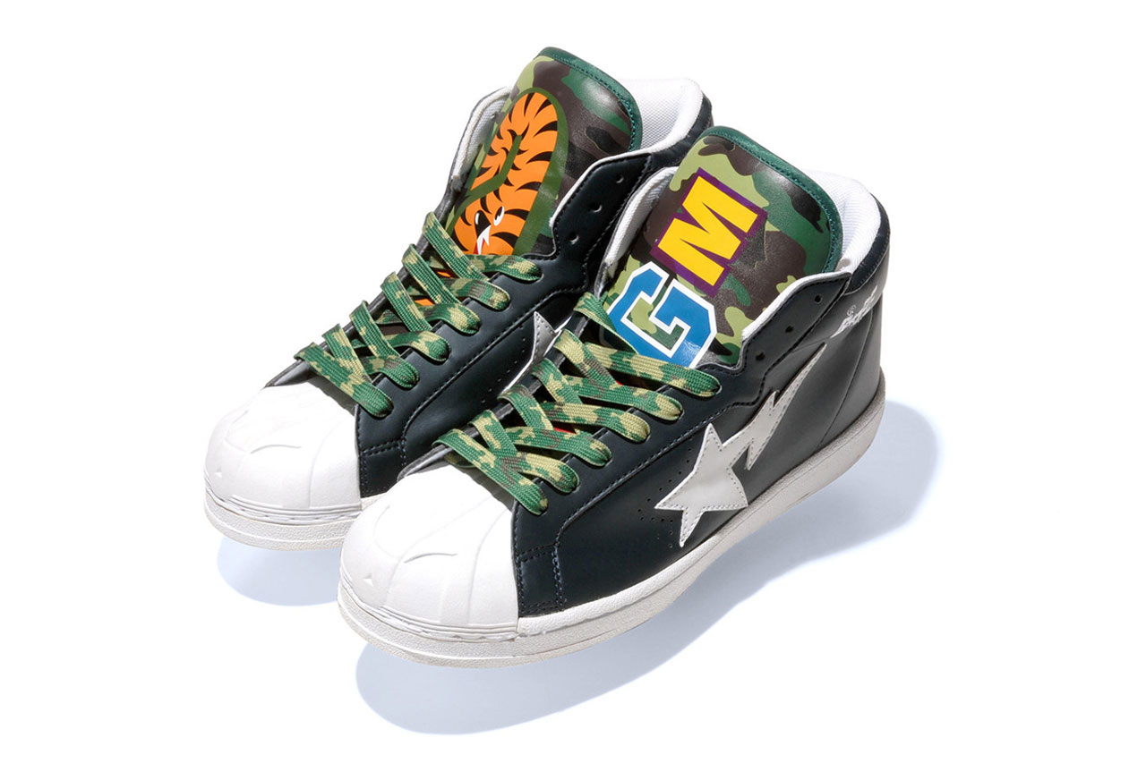 Image of A Bathing Ape 2013 Spring/Summer SHARK LEATHER BIG TONGUE ULTRA SKULL STA
