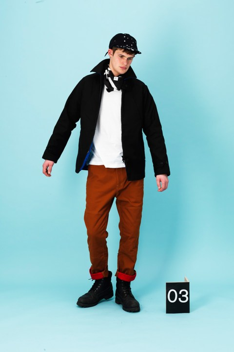 """Image of A.FOUR 2013 Fall/Winter """"Three Projects"""" Lookbook"""