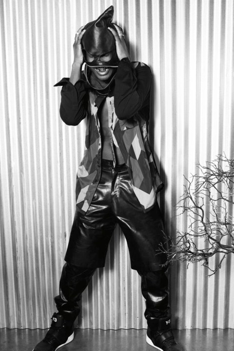 Image of Alexander Wang Interviews A$AP Rocky in April 2013 Issue of Interview Magazine