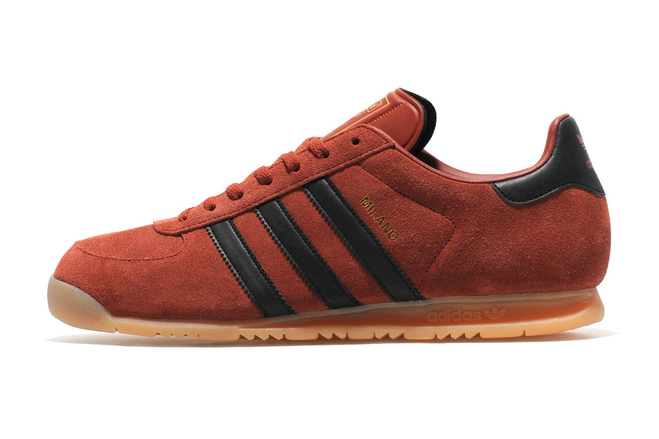 "Image of adidas Originals Milano ""Dark Copper"" size? Exclusive"