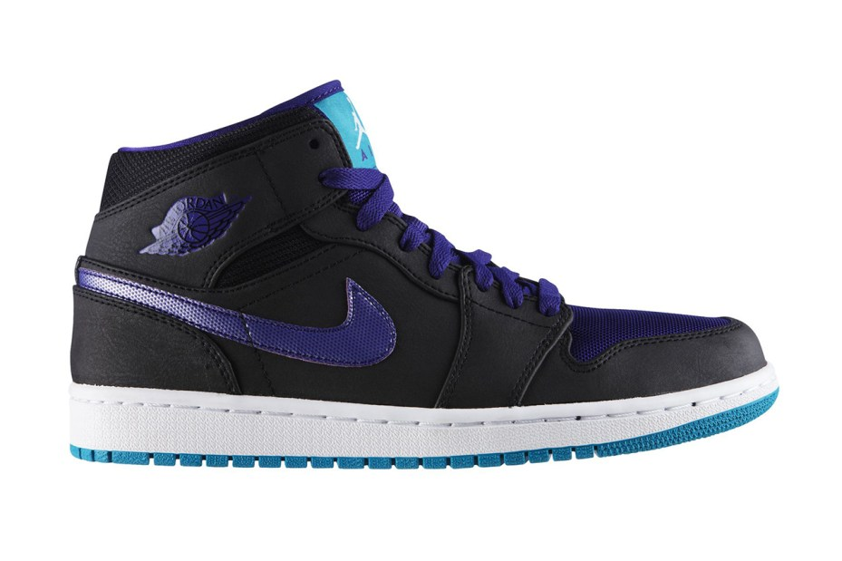 "Image of Air Jordan 1 Mid ""Black Grape"""