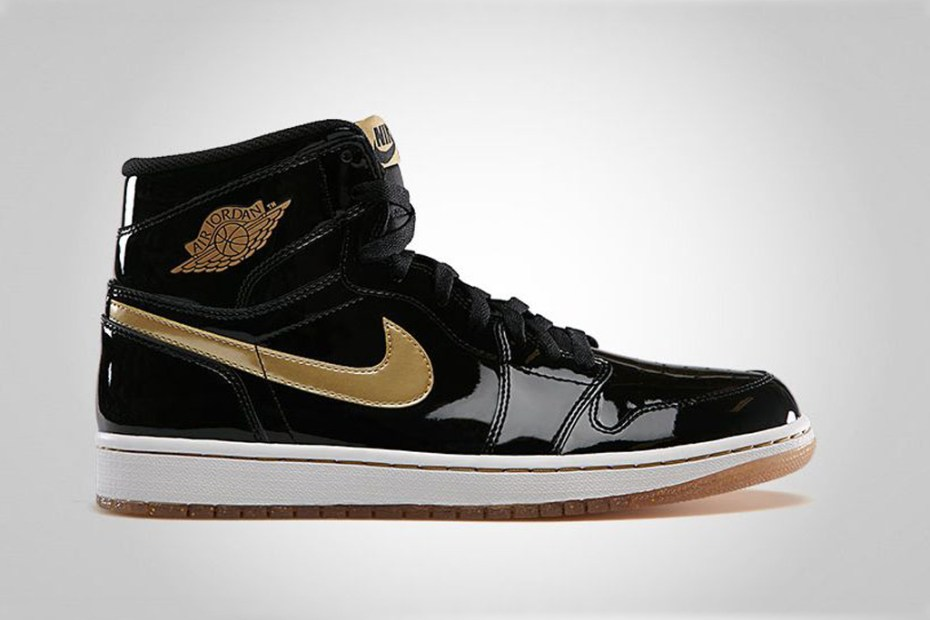 Image of Air Jordan 1 Retro High OG Black/Gold
