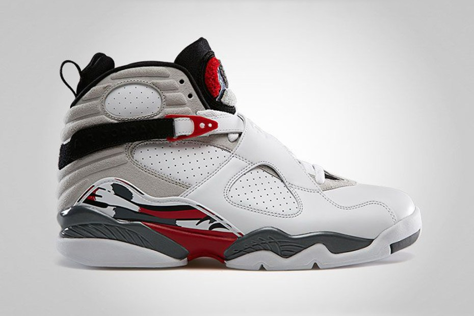Image of Air Jordan 8 Retro White/True Red