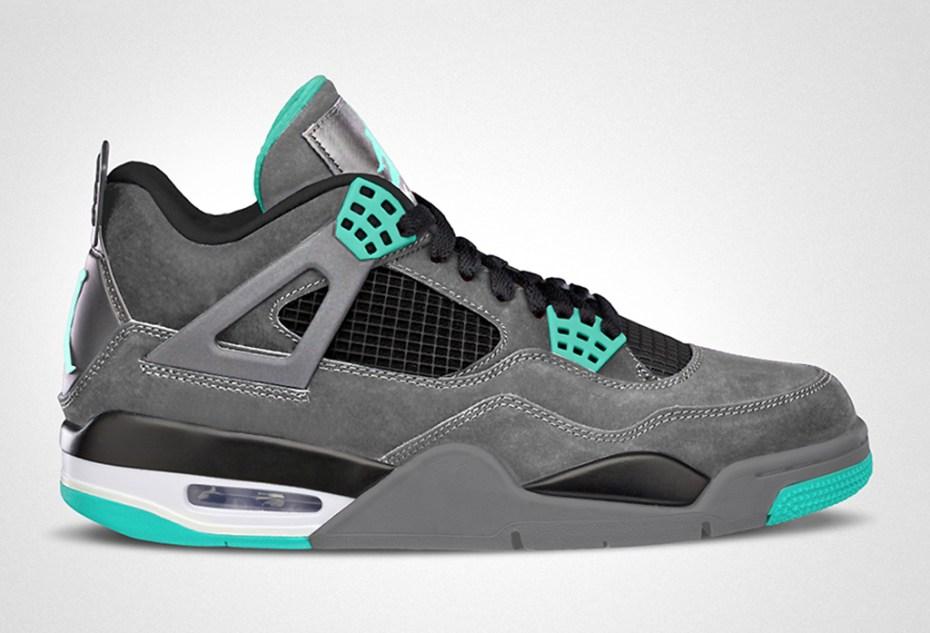 """Image of Air Jordan IV Retro """"Green Glow"""""""
