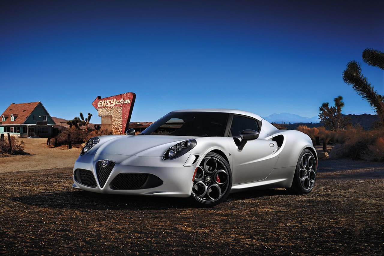 Image of Alfa Romeo 4C Launch Edition