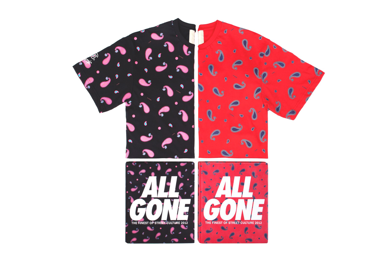 Image of CLOT x All Gone 2012 Paisley Print Tee