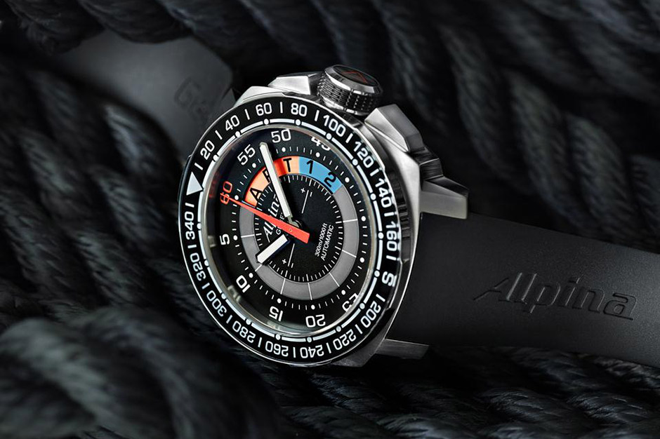Image of Alpina Sailing Yacht Timer Countdown