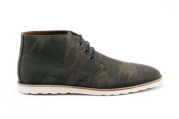 Image of Amsterdam Shoe Co. 2013 Spring/Summer Camo Canvas Chukka