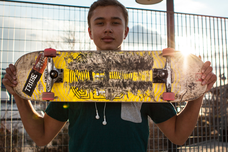Image of ANIMAL New York Zooms in on New York City Skateboard Decks