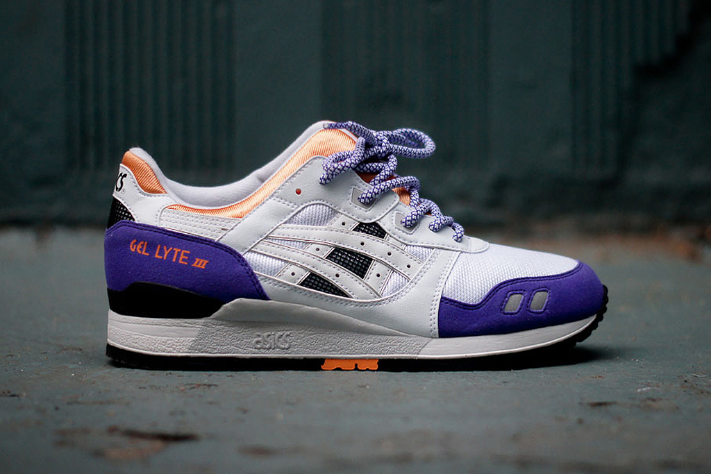 Image of ASICS 2013 Spring/Summer Gel Lyte III White/Purple