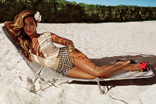 Image of Beyoncé is the Face of H&M's 2013 Summer Campaign