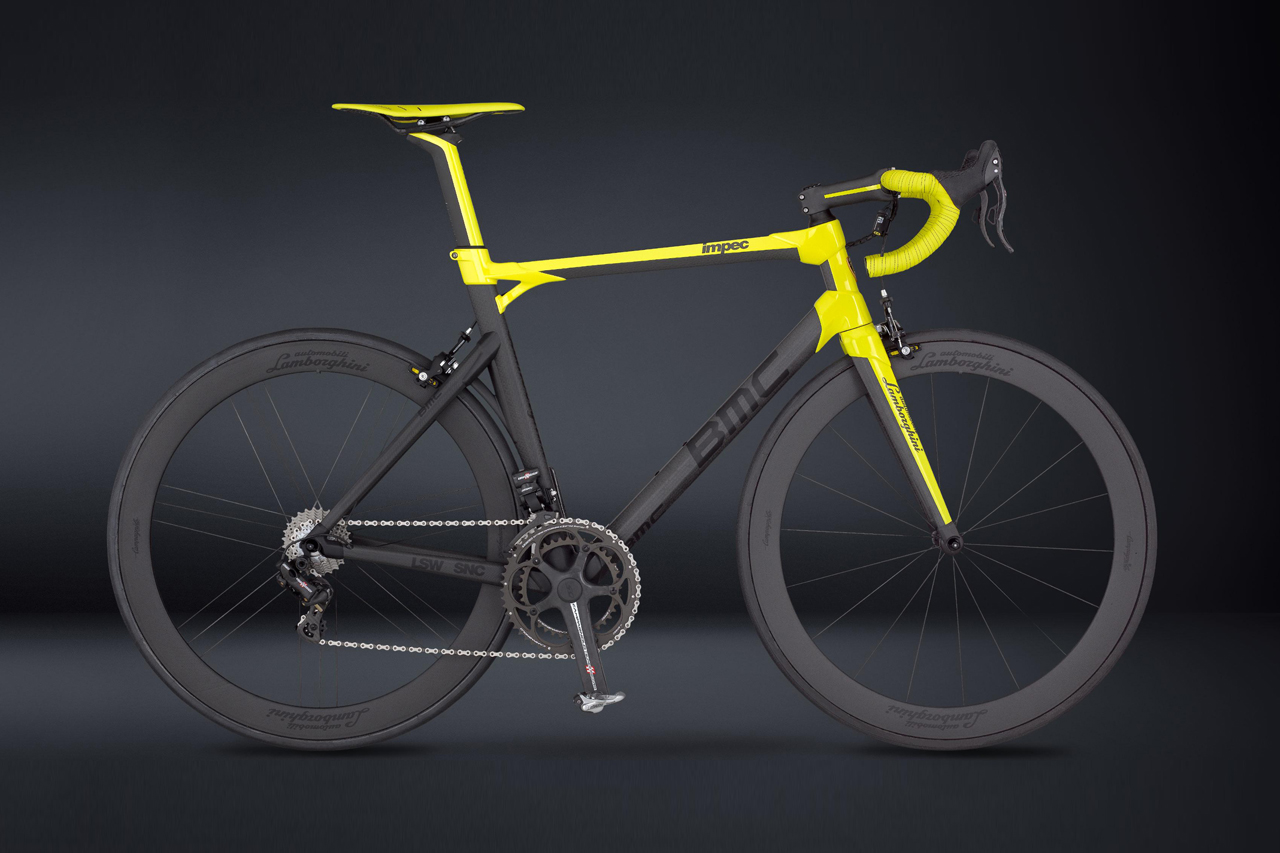 Image of BMC 50th Anniversary Lamborghini Edition Road Bike