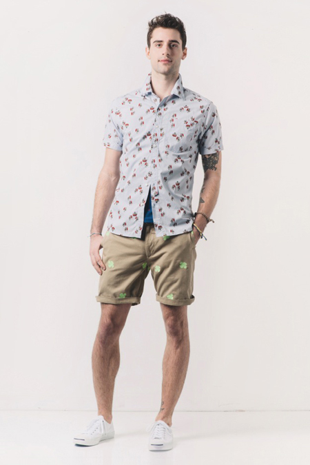 Image of Burkman Bros. for Barneys New York 2013 Spring/Summer Lookbook