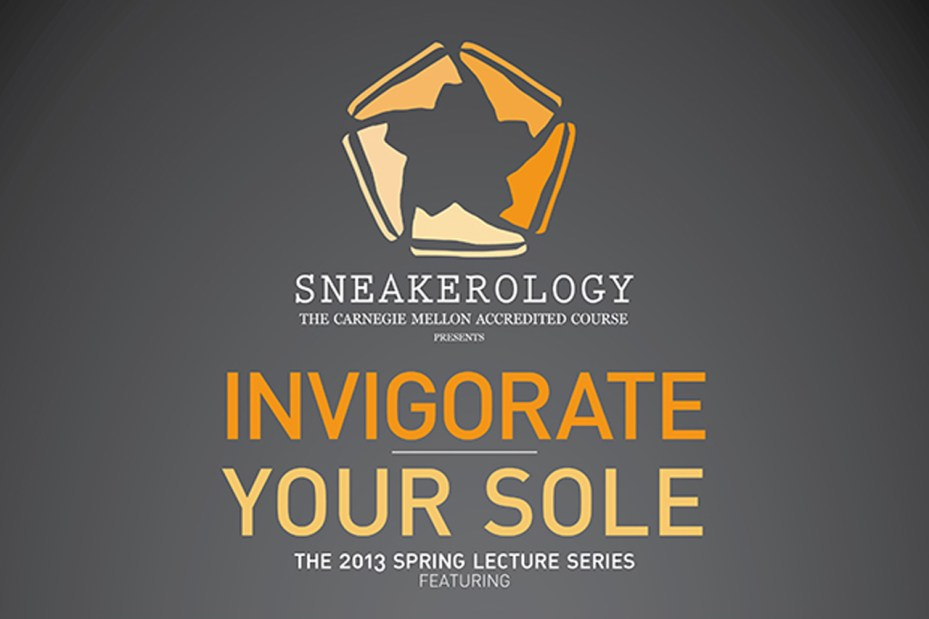 Image of Carnegie Mellon's 'Invigorate Your Sole' Sneakerology Lectures