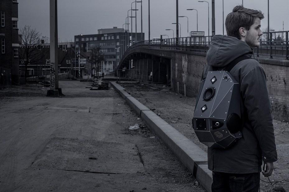 Image of Case of Base x Solid Gray Speaker Backpack
