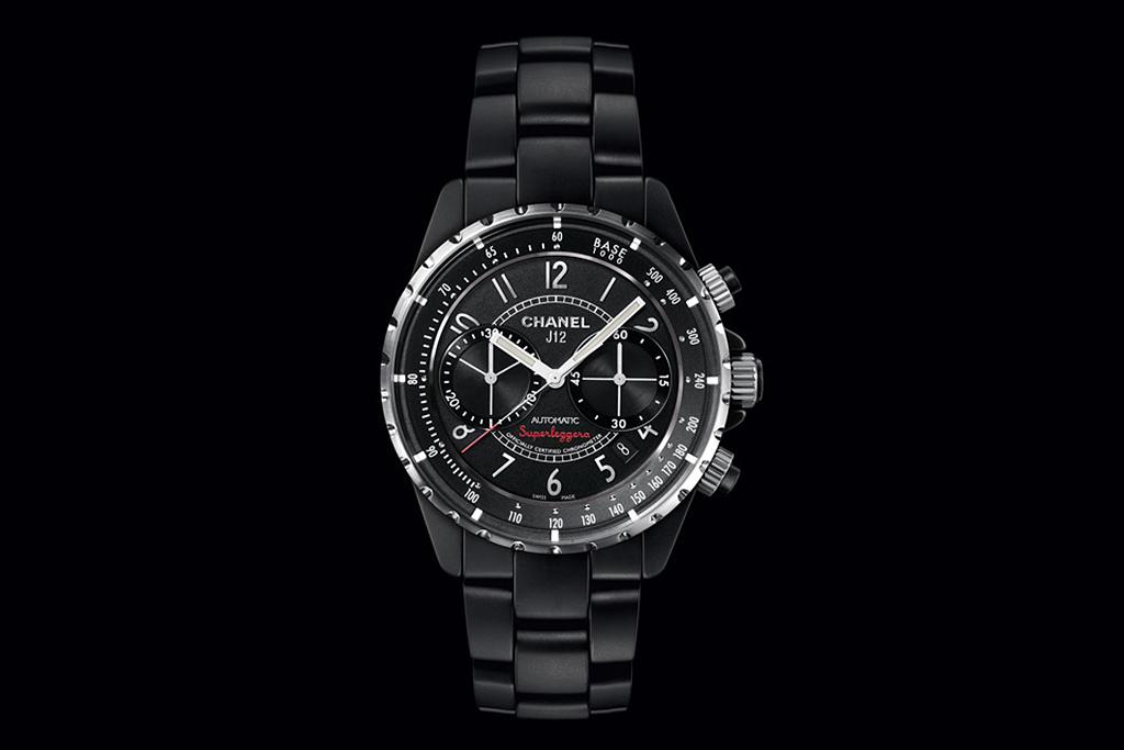 Image of Chanel J12 Matte Black Superleggera