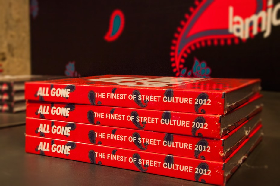 Image of CLOT x All Gone 2012 Book Launch Recap