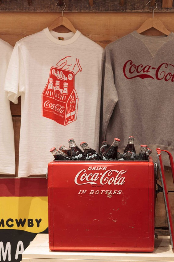 Image of Coca-Cola x HUMAN MADE Installation at PRESENT LONDON
