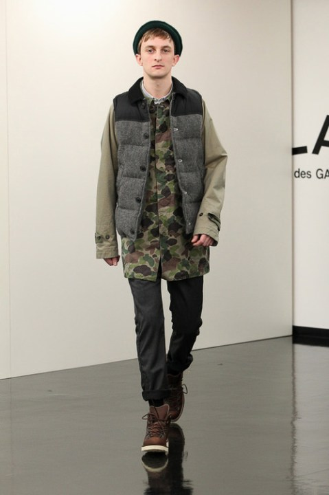Image of COMME des GARÇONS HOMME 2013 Fall/Winter Collection