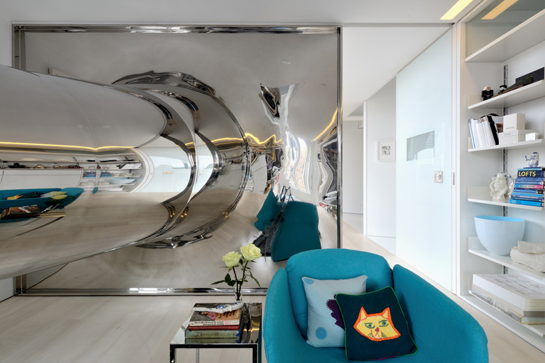 Image of David Hotson x Ghislaine Viñas Skyhouse Indoor Slide