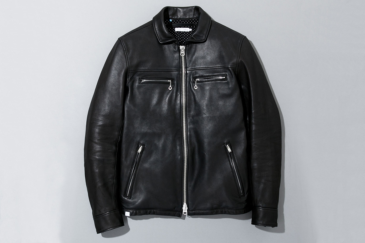 Image of Deluxe 2013 Spring/Summer Ton-up Leather Jacket