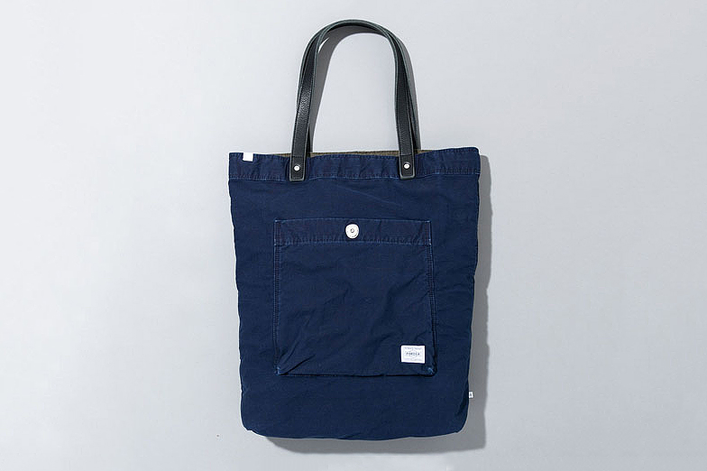 Image of Deluxe x Porter 2013 Spring/Summer Indigo Accessories Collection