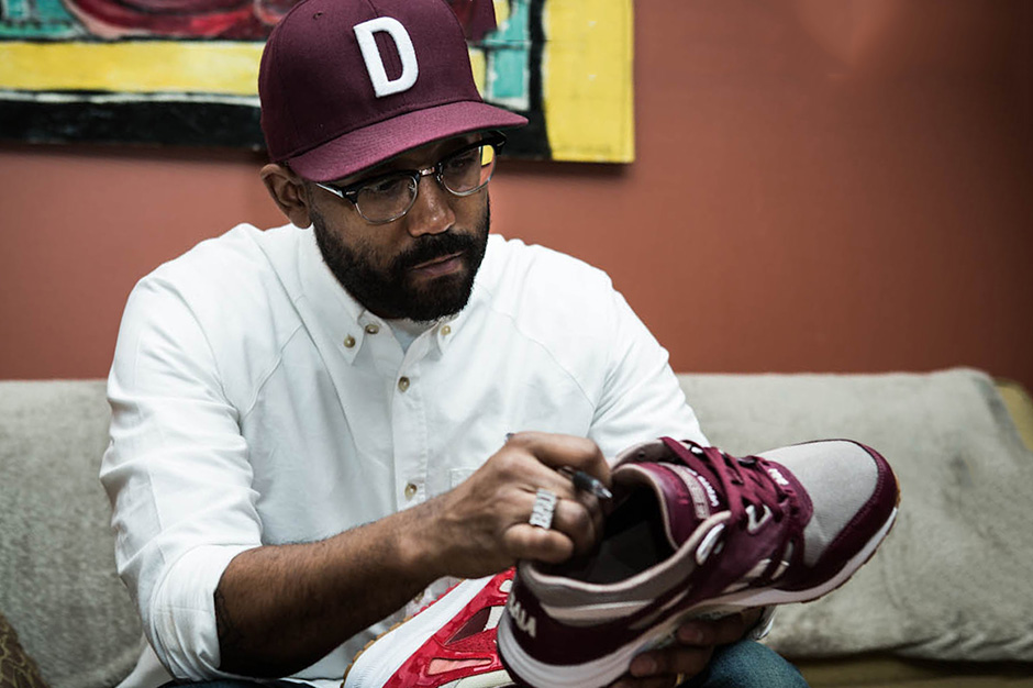 "Image of The Distinct Life x Reebok ""TDL Camo"" Ventilator: Rick Williams Talks Sneakers and the Motor City"