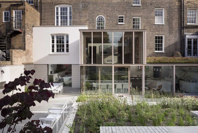 Image of East London House by David Mikhail Architects