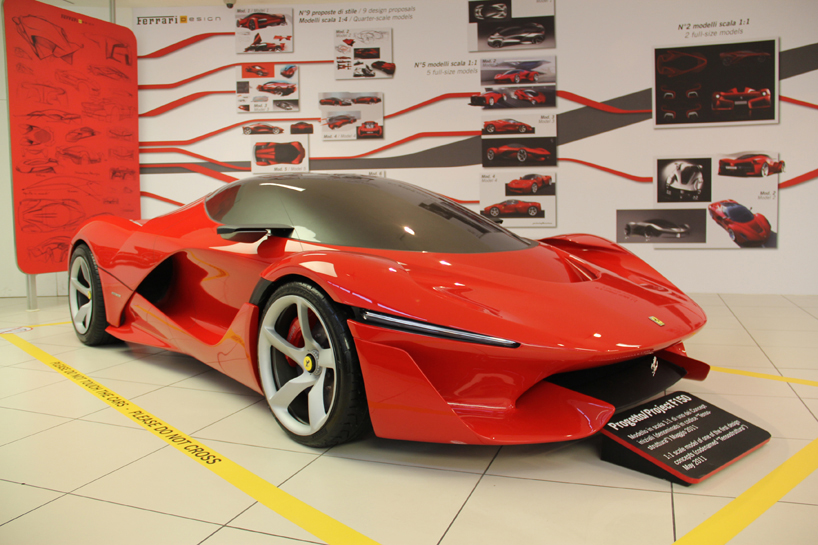 Image of Ferrari's Previously Unseen LaFerrari Concepts