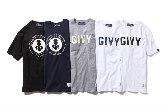 Image of GOODENOUGH IVY x fragment design T-Shirt Collection