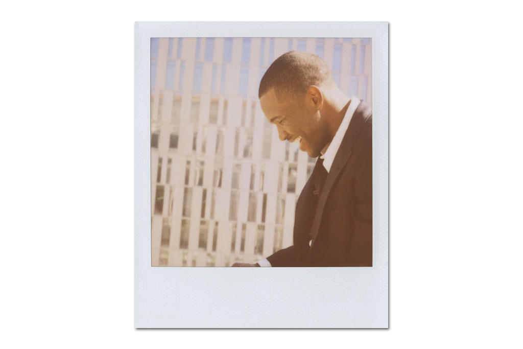 Image of Frank Ocean for Band of Outsiders 2013 Spring/Summer Lookbook