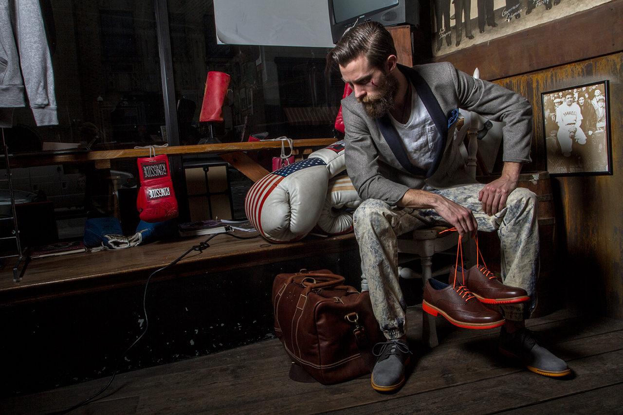 "Image of Grungy Gentleman x Cole Haan 2013 Spring ""Great Jones"" Lookbook"