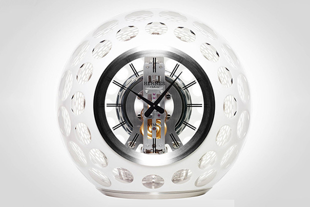 Image of Hermés Atmos Clock by Jaeger-LeCoultre