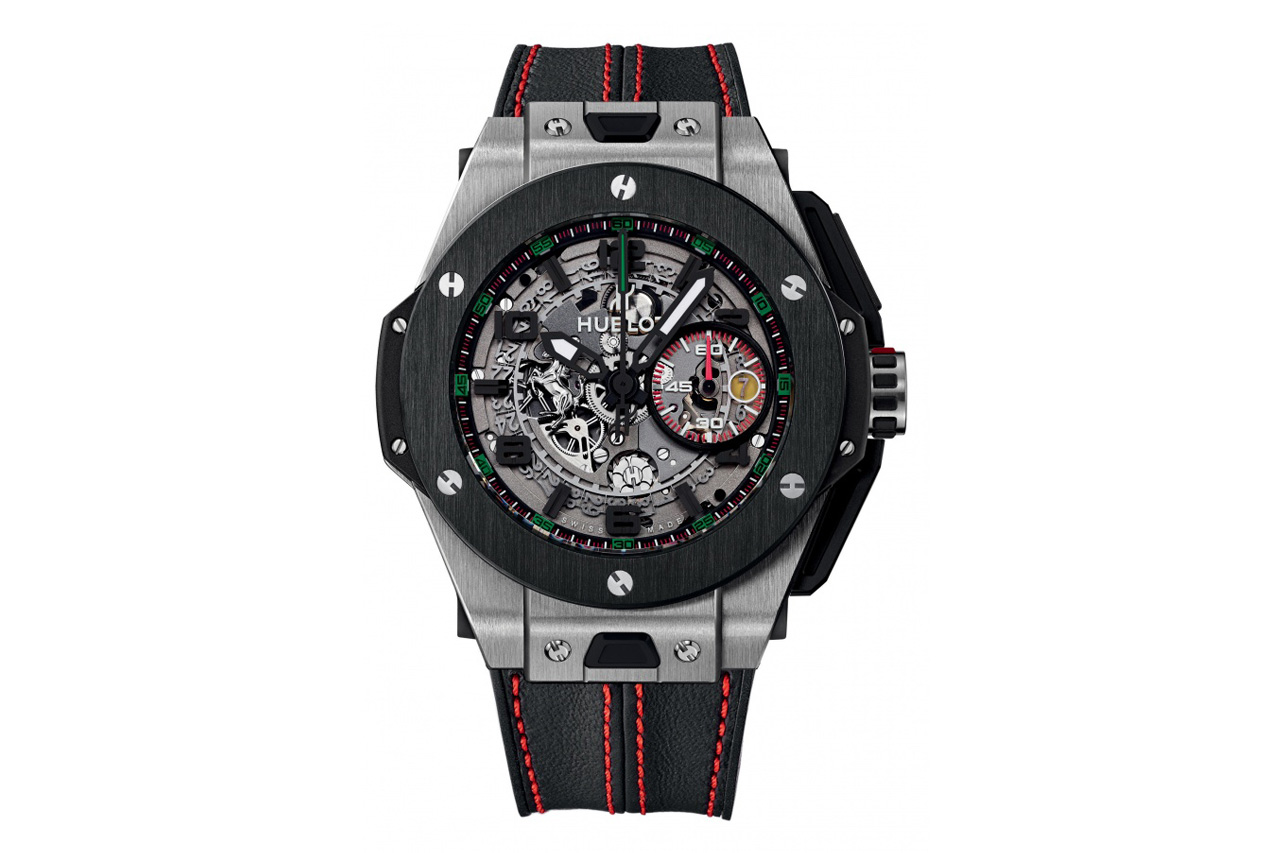 Image of Hublot Big Bang Ferrari UAE Limited Edition