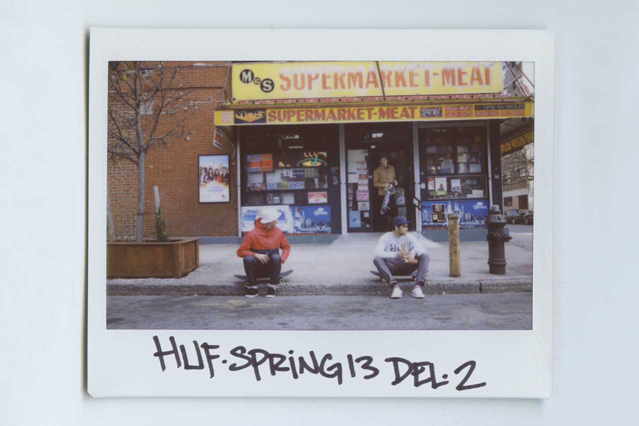 Image of HUF 2013 Spring Delivery 2 Lookbook by Brian Kelley