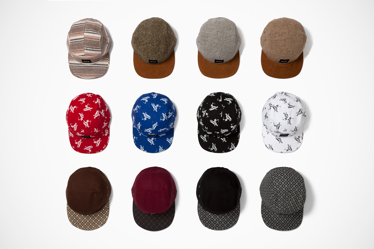 Image of HUF 2013 Spring/Summer Volley Cap Collection - Delivery 1